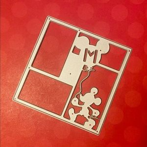 Mickey Mouse Card front/Photo Frame Die